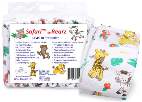 Rearz Safari, Medium, 12 kpl pakkaus