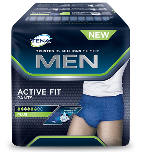 Tena Men Active Fit Pants, Large, 10 kpl pakkaus