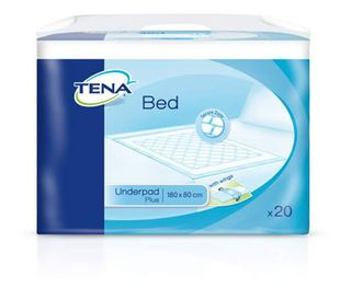 Tena Bed Plus Wings 80x180 cm, 20 kpl pakkaus