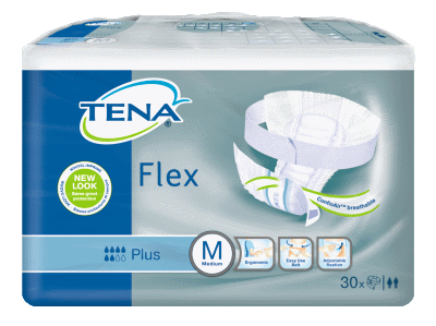 Tena Flex Plus, Medium, 90 kpl laatikko