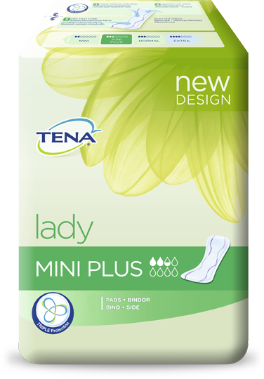 Tena Lady Mini Plus, 16 kpl pakkaus